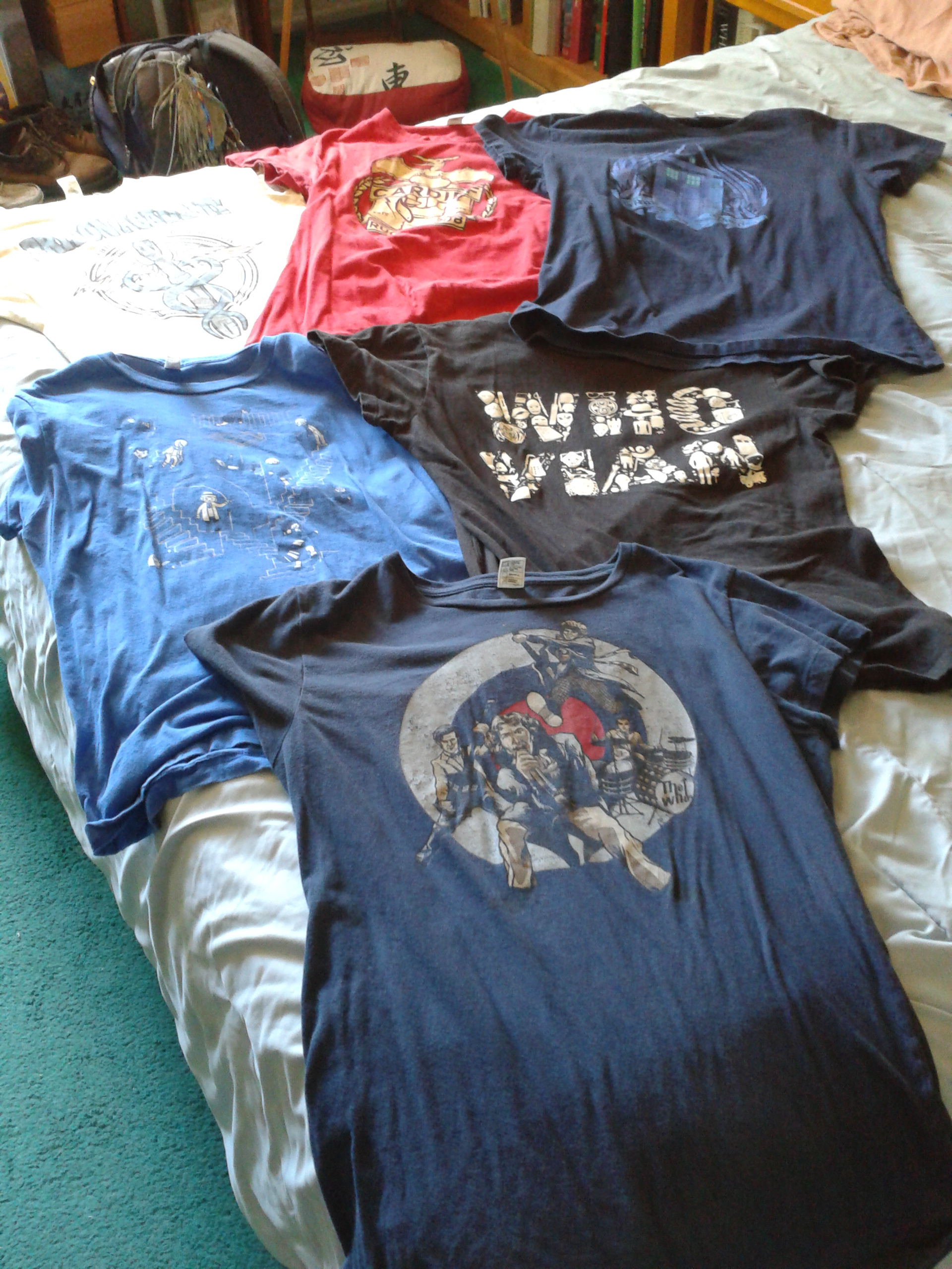 Dr. Who and Torchwood shirts