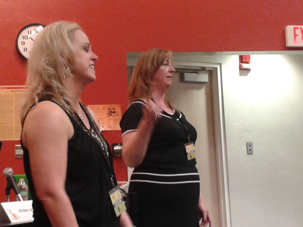TFOB, Tucson festival of Books, Kristen Lamb, Piper Bayard, Social media for writers