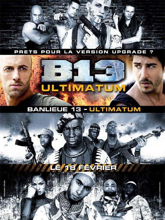 District B-13 Ultimatium, French Action Movies, Alica Mckenna-Johnson