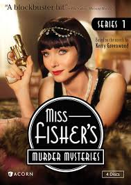 Miss Fisher murder mysteries, Alica Mckenna Johnson