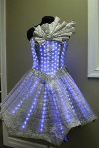 Photo by Solarbotics  So what do you think of this as an Oscar dress??