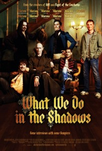 Vampire movies, what we do in the shadows