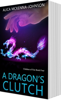 A Dragon's Clutch by Alica McKenna Johnson