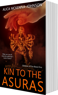 Kin to the Asuras by Alica McKenna Johnson